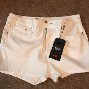 NWT LEVI premium denim shorts